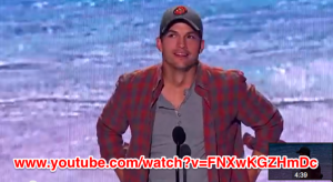 Ashton Kutcher @ Teen Choice Awards